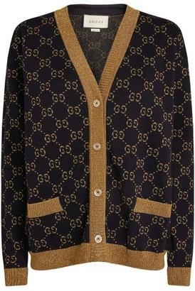 Gucci Wool-RichGG Cardigan