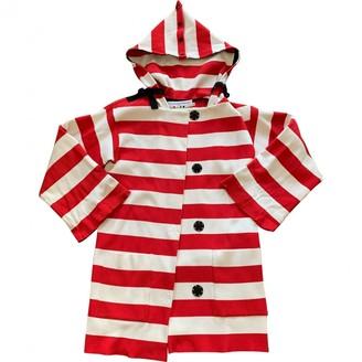 JC de CASTELBAJAC Multicolour Cotton Coat for Women
