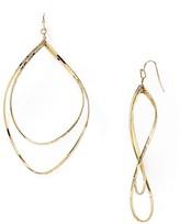 Aqua Carly Teardrop Earrings