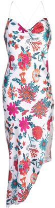 HANEY Goldie floral-print dress