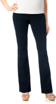 Motherhood Indigo Blue Petite Secret Fit Belly Boot Cut Maternity Jeans
