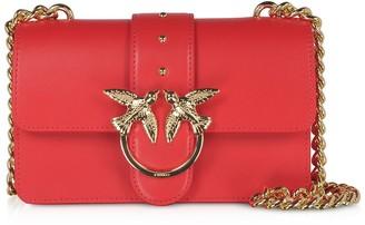 Pinko Red Love Mini Simply Shoulder Bag