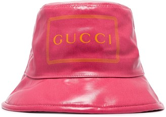 Gucci Logo Bucket Hat