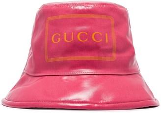 Gucci Logo-Print Bucket Hat