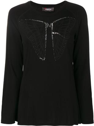 Jo No Fui butterfly longsleeved top