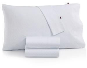 Tommy Hilfiger Twin Xl Hexagon Dot Sheet Set Bedding