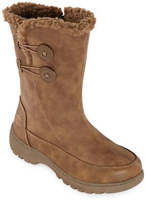 totes Womens Nala Waterproof Insulated Winter Boots Flat Heel