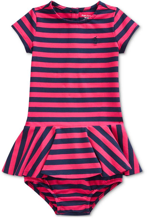 2d0b9c49 Baby Girls Stretch Stripe Dress