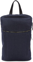 Pb 0110 Navy Linen Cm 27 Backpack