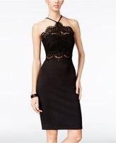 Trixxi Juniors' Lace Bodycon Dress