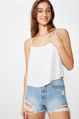 Cotton On Astrid Cropped Scoop Neck Cami