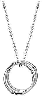 John Hardy Women's Bamboo Sterling Silver Large Pendant Necklace