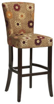 Pier 1 Imports Adelaide Gold Floral Bar Stool