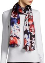 Vince Camuto Falling Floral Scarf