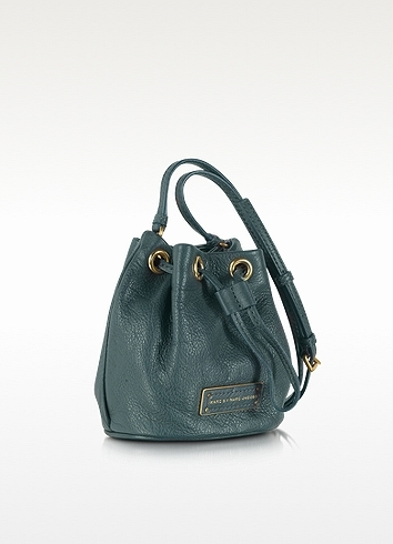 Marc by Marc Jacobs Too Hot To Handle Mini Drawstring Leather Shoulder Bag