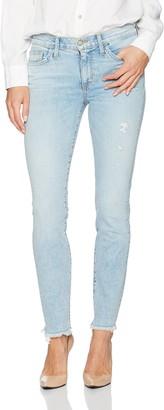 Siwy Women's Lauren Mid Rise Skinny Jeans in in Too Deep 24