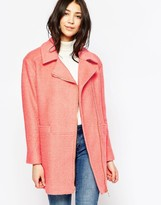 Yumi Asymmetric Zip Coat