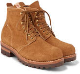 Visvim Zermatt Rough-out Leather Boots - Tan