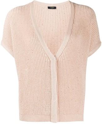 Peserico Embellished Knit Cardigan