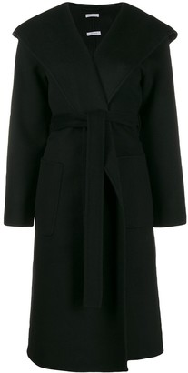 P.A.R.O.S.H. hooded midi coat