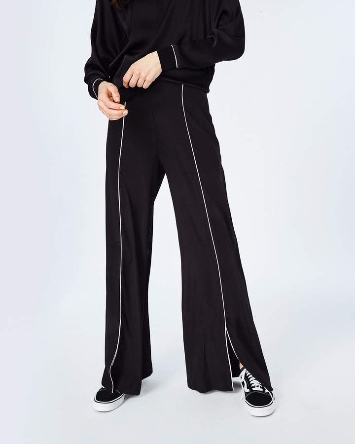 Nicole Miller Piped Sweatpants