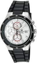 "Casio Men's EFR519-7AV ""Edifice"" Active Line Stainless Steel and Resin Watch"