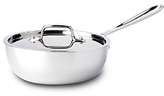 All-Clad Stainless Steel 2 Quart Saucier with Lid