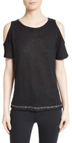 Derek Lam 10 Crosby Women's Cold Shoulder Tee