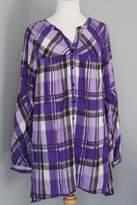 Umgee USA Plaid Loose Shirt
