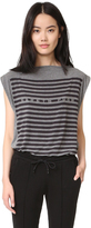 Gareth Pugh Sleeveless Logo Top