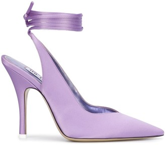 The Attico Sling-Back Pointed Pumps