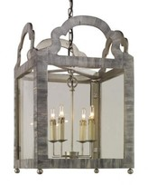 The Well Appointed House Paris Lantern in Two Different Finishes