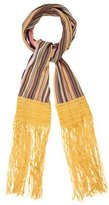 Missoni Chevron Fringed Scarf