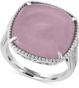 Effy Serenity by Rose Quartz Ring (10-3/8 ct. t.w.) in Sterling Silver