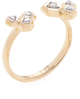 Maiyet 18K Yellow Gold & 0.08 Total Ct. Diamond Constellation Open Ring