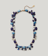 LOFT Blue Mixed Stone Necklace