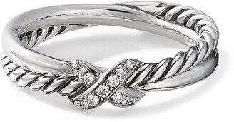 David Yurman X diamond ring