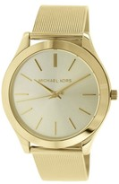 Michael Kors MK3282 Gold Tone Stainless Steel 43mm Womens Watch
