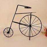 XLLCG@ WINE RACK DZXYA Retro bicycle cup holder iron Christmas gifts creative home decor ornaments Wine Rack