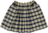 Bonton Dictee Check Skirt