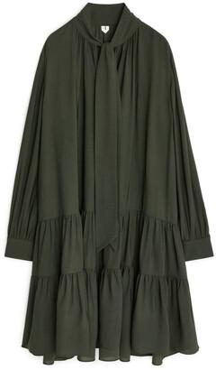 Arket Tie-Detail Dress