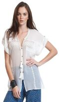Plenty by Tracy Reese Tie-Neck Blouse