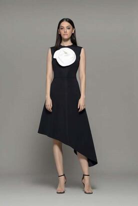 Isabel Sanchis Aliam Sleeveless Cocktail Dress