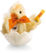 Steiff Fuzzy Clicki Chick in Eggshell Stuffed Animal