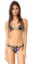 Pilyq Mesh Triangle Bikini Top