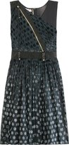 Luella Panelled Mix Dress