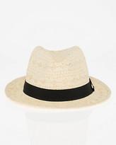 Le Château Woven Fedora Hat