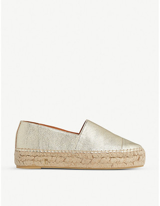 LK Bennett Talia espadrille leather sandals