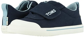 Toms Kids Doheny (Toddler/Little Kid) (Navy Canvas) Kid's Shoes