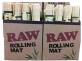 Bamboo 5 X Raw Natural Cigarette Rolling Mats